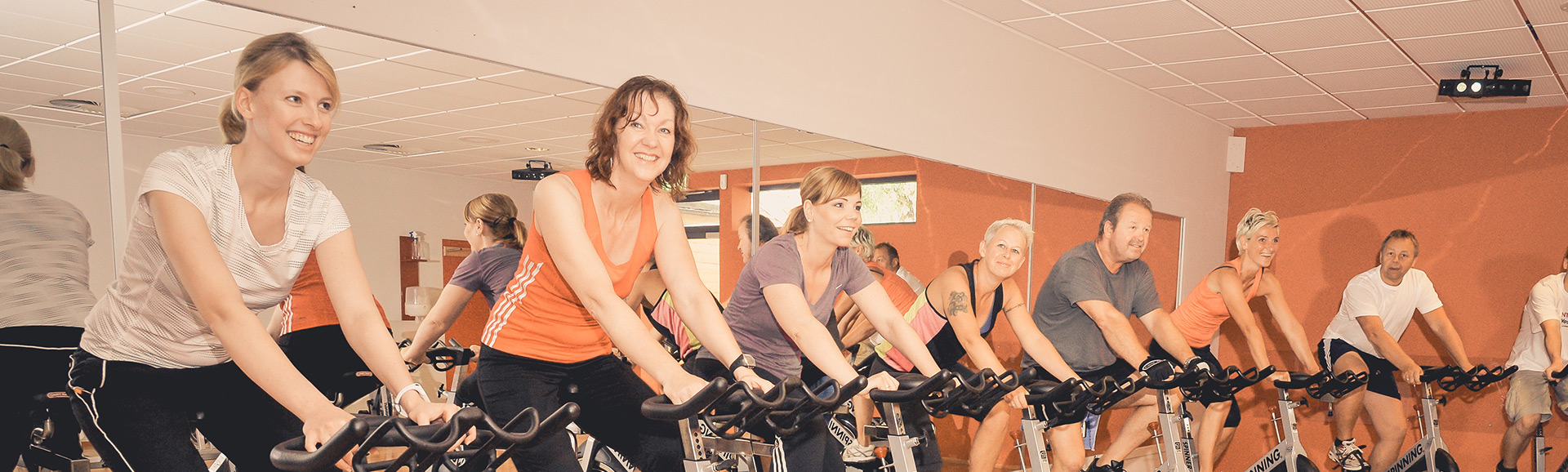 Spinning indoorcycling im Fitness Park Horn